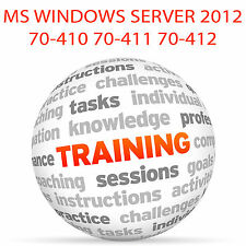 MS WINDOWS SERVER 2012 70-410 70-411 70-412 - Video Training Tutorial DVD