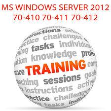 MS WINDOWS SERVER 2012 70-410 70-411 70-412 - Video Training Tutorial DVD
