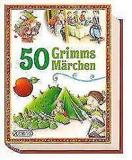50 Grimms Märchen von Brüder Grimm (2017, Taschenbuch)