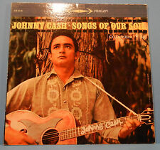 JOHNNY CASH SONGS OF OUR SOIL LP '59 ORIGINAL PRESS 6 EYE GREAT COND! VG+/VG+!!A