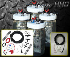 Classic-HHO Hydrogen Generator 4 Cell System & Premium Dual Supply Hook Up Kit