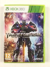Jeu Transformers The Dark Spark Sur Xbox 360 Console Microsoft