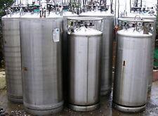 Liquid Nitrogen Stainless Dewars 120 Gal Cap. DOT 4L200 T.W. 550 Lbs Item #8603