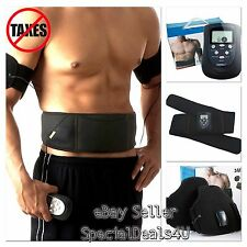 Flex Belt Abdominal Toning AB Vibrate Slimming Exercise Weight Muscle Training