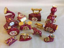 Beautiful Vintage Miniature Limoges  12-Piece Porcelain Set