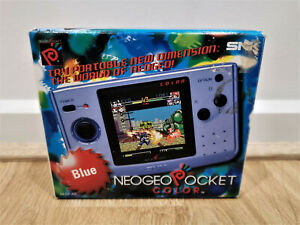 RARE---Neo Geo Pocket Colour Console Boxed - With Booklets-