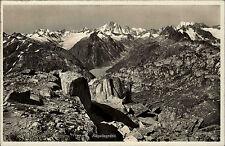 Grimselsee Schweiz Bern ~1940 Nägelisgrätli Finsteraarhorn Schreckhorn Gletscher