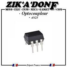 Optocoupleur 4N25 (Photocoupleur Phototransistor) (Expédié depuis la France)