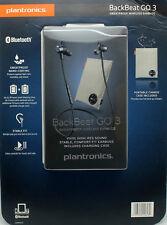 Plantronics BackBeat GO 3 Sweatproof Wireless Earbuds +Charging Case Cobalt Blue