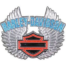 HARLEY DAVIDSON REBEL SPIRIT GLITTER PIN BAR AND SHIELD WITH WINGS