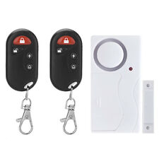 Remote Control Wireless Magnetic Sensor Door Window Entry Safety Burglar Alarm
