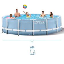 Piscina fuori terra rotonda Intex Prisma 366x76 cm con pompa filtro