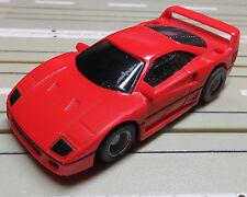 Für Slotcar Modellbahn ---  Ferrari F 40 mit Tyco Motor  !