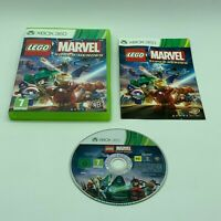 Lego Marvel Super Heroes Xbox 360 Video Game PAL UK Manual Tested Freepost VGC