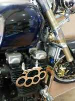 YAMAHA XJR 1200 / 1300 STREET FIGHTER MIRROR POLISHED STAINLESS ENGINE COVERS