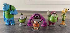 Disney Pixar - Monsters University Sully Art Don Squishy Archie - PVC Figure Set