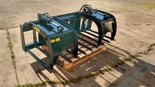 """New 75"""" Manure Tine Grapple. Silage Rake. HD fits Skid Steer, Tractor, Bobcat!!"""