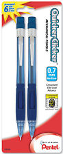 Pentel Quicker Clicker Mechanical Pencils 0.7mm Lead 3.5mm Fixed Sleeve 2pk