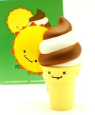 "Kidrobot Travis Cain Bffs Softee & Ray 3"" Ice Cream & Sun Will Make You LOL Art"
