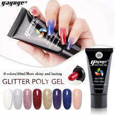 7 Farben 30ml Poly Nagel Gel UV-Gebäudeerweiterung Nagelpolitur Poly Gel