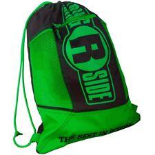 Ringside Cinch Sack Backpack Gear Gym Equipment Gloves Carry Bag - Green / Black