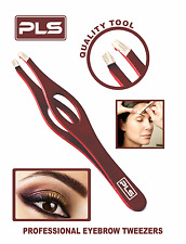 PINCE A ÉPILER - Professional Stainless Steel Tweezer Slanted Tip for Eye Brows