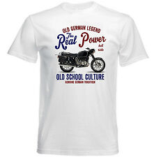 VINTAGE BMW R75 MOTORCYCLE REAL POWER - NEW COTTON T-SHIRT