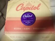 "Capitol 10"" 78/HELEN O'CONNELL/I Wanna Play House With You/Slow Poke/E!!!"