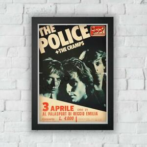 The Police - Concert Poster Print