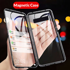 360 ° de vidrio templado Magnético Funda para Samsung Galaxy S10 10 S9 Plus Note