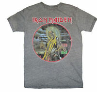 IRON MAIDEN KILLERS EDDIE HEATHER GRAY METAL CLASSIC ROCK BAND T TEE SHIRT S-XL
