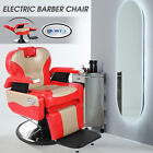 Electric All Purpose Barber Chair Heavy Duty Hydraulic Recliner Salon Spa Beauty