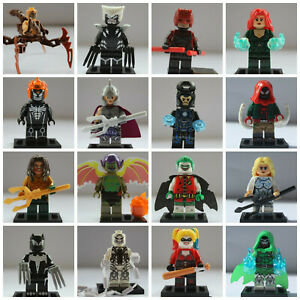 Marvel Super Heroes Robin Batman Mini Figures Venom Spiderman Avengers Endgame