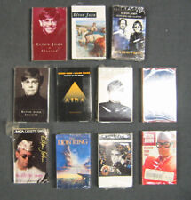 ELTON JOHN LOT of 11 Cassette Singles 1990-00's One, Lion King, Candle, Believe+