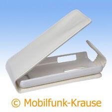 Flip Case étui pochette pour téléphone portable sac housse F. Nokia 206 (Blanc)