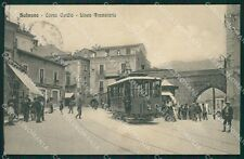L'Aquila Sulmona Tram cartolina XB3983