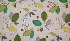 """MAGNOLIA HOME CALDER MEADOW GREEN ABSTRACT LEAF MULTIUSE FABRIC BY THE YARD 54""""W"""