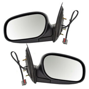 Pair Set Performance Power Side Mirrors for 98-08 Crown Victoria Grand Marquis