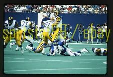 1990 Jim Everett #11 - Los Angeles Rams - Original NFL Football 35mm Slide