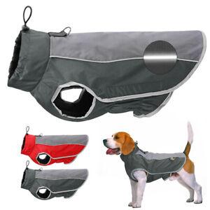 Dog Winter Coat Waterproof Doggie Clothes Reflective Pet Jacket Jack Russell Pug