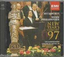 RICCARDO MUTI - New year's concert 97 - 2 CD 1997 SIGILLATO SEALED