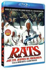 RATS NIGHT OF TERROR (1984) **Blu Ray B** Ottaviano Dell'Acqua Bruno Mattei