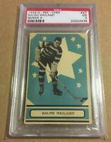 1933 O-pee-chee #27 Ralph Cooney Weiland PSA 3 RC Ottawa HoF