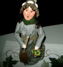 Byers choice, Nautical Witch open house Sea Witch 2017 Signed by Joyce byers