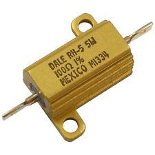 Vishay Dale RH-5 Widerstand 5W 100R 1% Drahtwiderstand Aluminiumgehäuse 856203