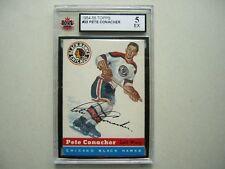 1954/55 TOPPS NHL HOCKEY CARD #33 PETE CONACHER KSA 5 EX SHARP!! 54/55 TOPPS