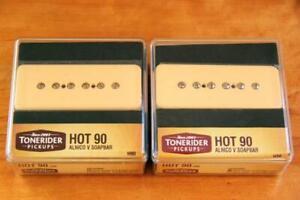 TONERIDER HOT 90 SOAPBAR H90 SET CREAM mit NECK & BRIDGE H90SET-CR