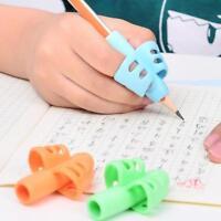 3stk Kinder Bleistift Halter Stift Schreibhilfe Griff Haltung Korrektur Wer Z5X1