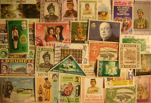 Brunei 60 Different Used