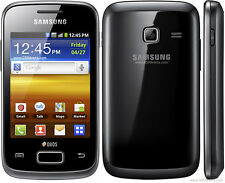 Samsung Galaxy Y Duos - S6102 Black Preowned + 3Months Warranty Dent+Scratches-C